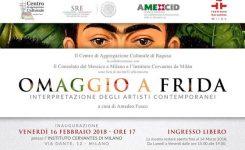 Omaggio a Frida a Milano a cura di Amedeo Fusco